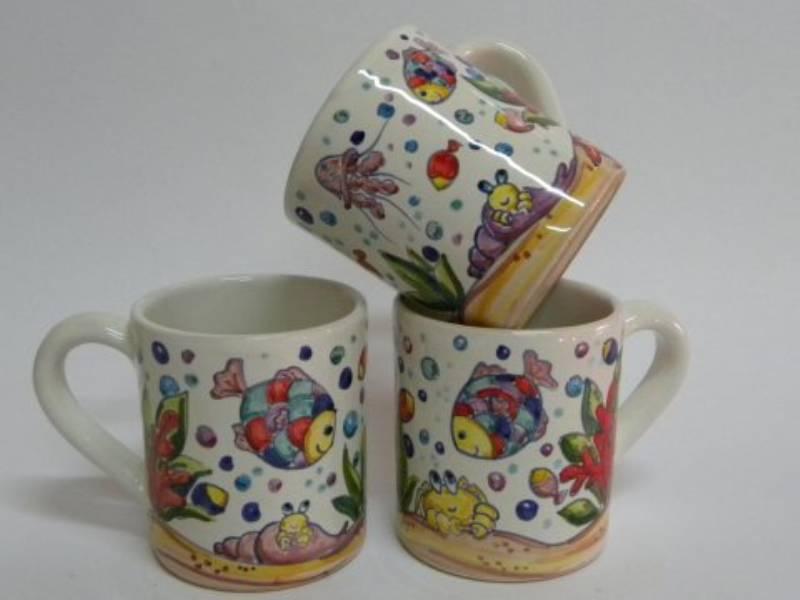 tazze in ceramica