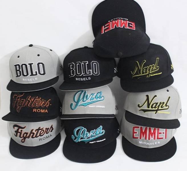 cappellino da rapper