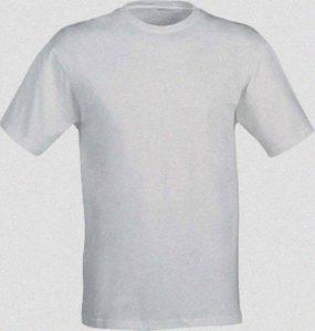 magliette bianche per stampe